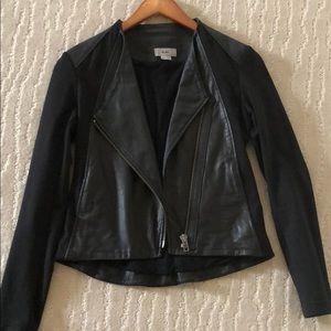 Helmut Lang Moto Leather Jacket Small Like New!